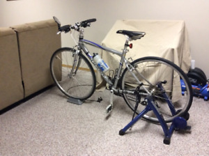 Giant 45.6 road bike, one owner, excellent condition.