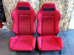 RECARO DC2 EK9 RED PAIR SEAT FOR SALE
