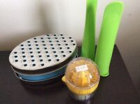 Cheese Grater, Juicer, Silicone Pop Molds