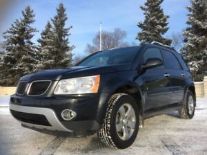 2008 Pontiac Torrent, LIMITED, AUTO, AWD, LEATHER, ROOF, $6,500