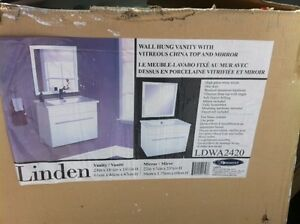 Bathroom sink and vanity for sale