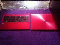 ASUS X553 X553M X553MA keyboard bottom/top red plastics new