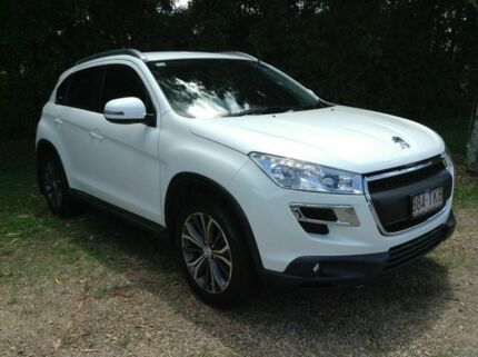2013 Peugeot 4008 MY14 Active 2WD White 6 Speed Constant Variable Wagon