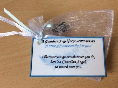 Keepsake Guardian Angel gift for Prom day graduation gift for lads boys teens  ()