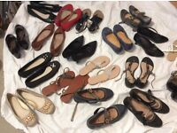 Size 7 New and worn once ladies shoes/ sandals
