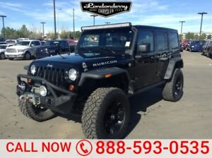 2013 Jeep Wrangler Unlimited 4WD UNLIMITED RUBI Accident Free,