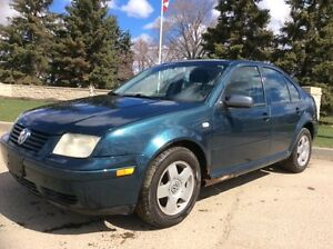 2002 Volkswagen Jetta, GLS-PKG, 5/SPD, LOADED/ROOF, 182k, $2,500