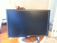 """Monitor - Dell 20"""" widescreen"""