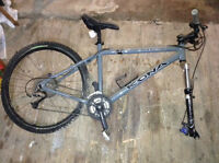 "Kona Cinder Cone 18"" frame mountain bike - new price"