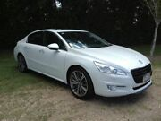 2012 Peugeot 508 GT White 6 Speed Sports Automatic Sedan Nambour Maroochydore Area Preview