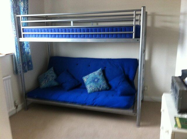 Bunk Beds 39 Jaybee 39 Single Top Sofa Double Bottom In