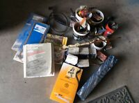 Numerous Volkswagon Parts and Two Manuals for Sale