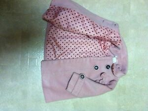 6-12 mos. pink baby coat