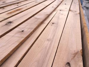 Alder Kiln Dried Planed Lumber