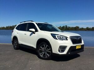 2019 Subaru Forester MY19 2.5I Premium (AWD) Crystal White Pearl Continuous Variable Wagon Taree Greater Taree Area Preview