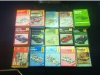 Haynes Manuals - approximately 50