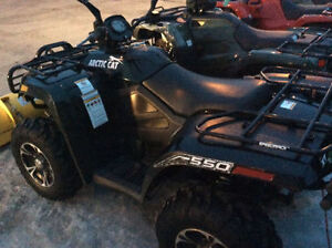 2013 Arctic Cat 550 4x4 - with plow - excellent shape