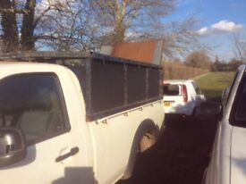 Ford ranger pick up high sides and tailgate