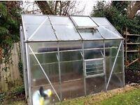 Greenhouse & Cloche £30