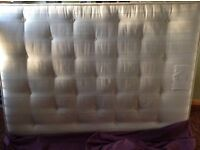 Double mattress only one year old. £165 ONO