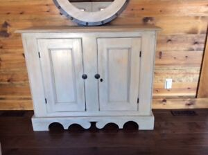 Hand Crafted Buffet With Rich Taupe/Grey Finish
