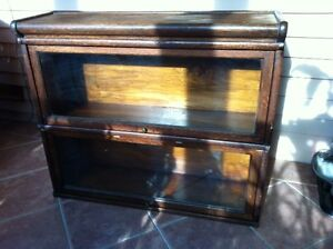 Barristers Bookcase - Antique