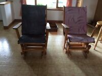 Chaises berceuses