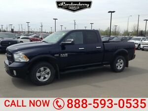 2014 Ram 1500 4WD CREWCAB OUTDOORS Accident Free,  Heated Seats,