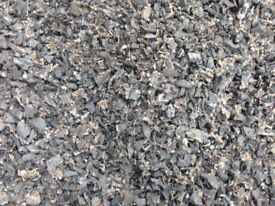 Rubber chippings suitable for children's playarea