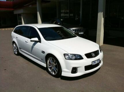 2012 Holden Commodore VE II MY12.5 SS V Sportwagon Z Series White 6 Speed Sports Automatic Wagon