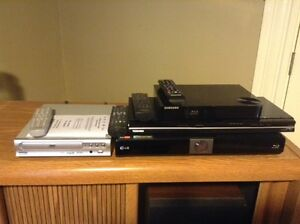 Two assorted DVD players