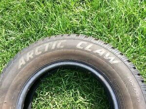 """Winter tires 15"""" """"Artic Claw"""" (studdable) Strathcona County Edmonton Area image 3"""