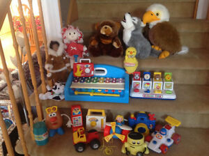 "JOUETS ""PLAYSKOOL, FISHER PRICE, MATTEL, LITTLE TIKES"" !!!"