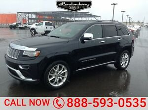2014 Jeep Grand Cherokee 4WD SUMMIT Navigation (GPS),  Leather,