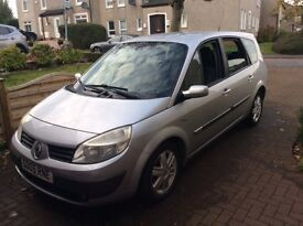 2005 Renault Grand Scenic 7 seater with low miles and 1 years MOT