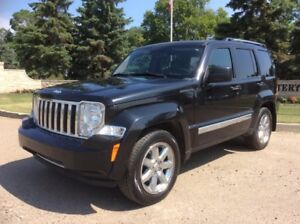 2009 Jeep Liberty, LIMITED-PKG, AUTO, 4X4, LEATHER, ROOF, $7,500