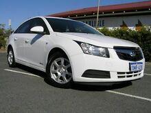 2010 Holden Cruze JG CD White 6 Speed Auto Sports Mode Sedan Gosnells Gosnells Area Preview