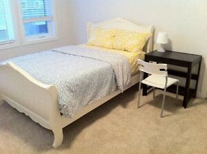 Beautiful furnished bedroom, Harbour landing, included utilities