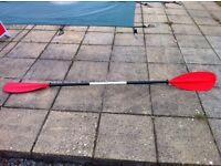 Kayak / Canoe Paddle - 1 Piece