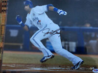JOSE BAUTISTA SIGNED 11X14 PHOTO  PSA/DNA AUTHENTICATED WITH COA