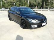 2008 Mazda 6 GH Classic Black 5 Speed Auto Activematic Wagon Morayfield Caboolture Area Preview
