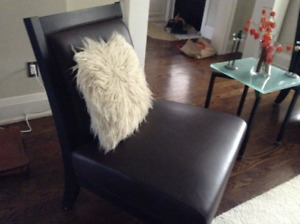 Set of two Slipper Chairs