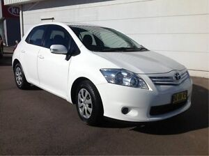 2012 Toyota Corolla ZRE182R Ascent S-CVT White 7 Speed Constant Variable Hatchback Cardiff Lake Macquarie Area Preview