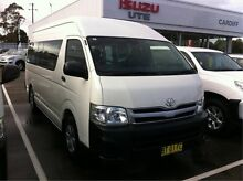 2012 Toyota Hiace TRH223R MY12 Commuter High Roof Super LWB White 4 Speed Automatic Bus Cardiff Lake Macquarie Area Preview