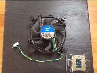 Intel Core i3 4150 Processor and Fan