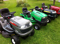 PAYING CASH FOR YOUR WORKING/NON WORKING LAWN TRACTOR