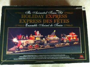 """""""New Bright"""" Holiday Express Train (G Scale)"""