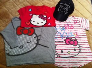 Girls Summer Clothes  (Hello Kitty- size 5/6 )