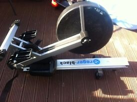 Nearly new air rowing machine