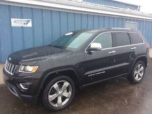 2016 Jeep Grand Cherokee Limited 4X4 Leather Roof